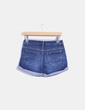 Short denim con dobladillo Kiabi