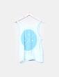 Camiseta circulo azul mimmeko