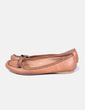 Zapato plano marrón NoName