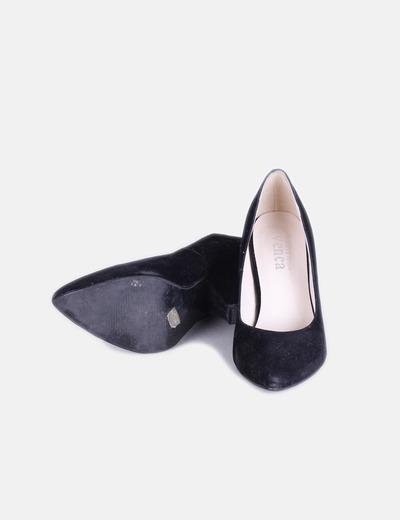 Zapato terciopelo con tacon