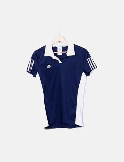 Camiseta deportiva bicolor Adidas