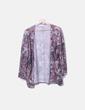 Kimono tricot morado Lefties