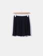 Mini-jupe noire avec volant NoName