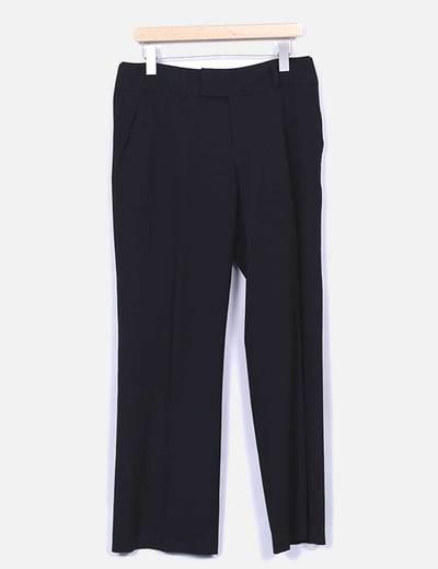 Pantalons noirs habillés Mexx