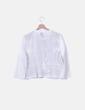 Camisa blanca bordada Mango