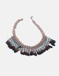 Collar abalorios tricolor NoName
