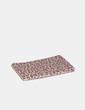 Cartera-billetera texturizada animal print NoName