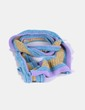 Bufanda lana tricolor NoName