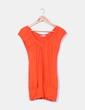 Camiseta naranja cuello pico C&A