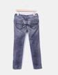 Jeans denim gris con cremalleras Pepe Jeans