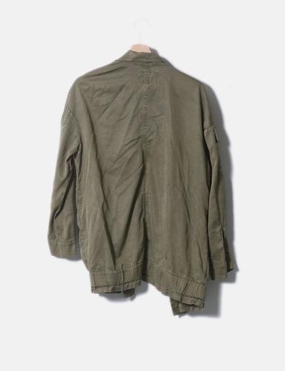 Militaire Veste Micolet 66 Verte Zara réduction qEASOxwn