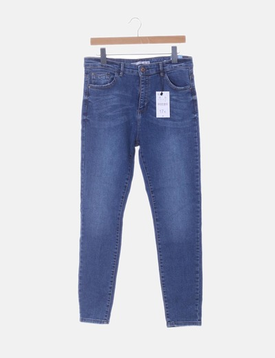 Jeans denim pitillos