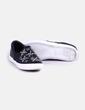 Zapatillas polipiel negras con strass Zara
