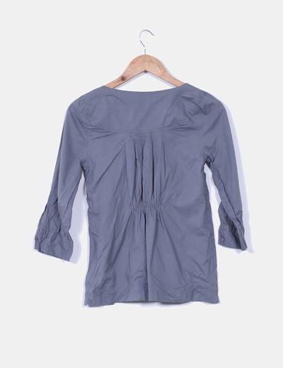 Blusa gris marengo