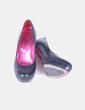 Zapato tacón con plataforma negro texturizado Mascaró