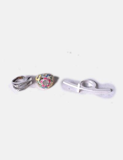 Conjunto de 3 anillos NoName