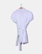 Vestido blanco camisero Yera