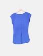 Camiseta combinada azul klein Salsa