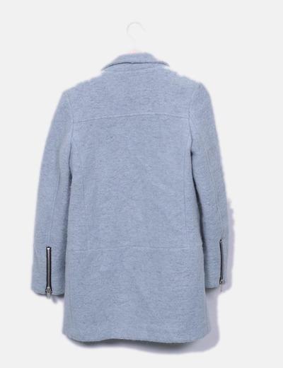 Chaqueton lana gris