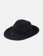 Chapeau noir de laine NoName