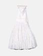 Vestido de fiesta color crema Jordi Dalmau