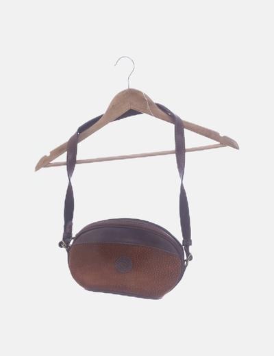 Bolso marrón bandolera