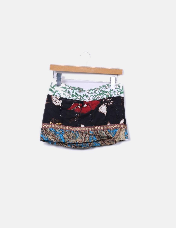5fb90bdc9c Mini con NoName Faldas combinada online corchetes falda baratas 6p8xrq6 ...