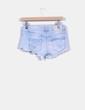 Short demin básico efecto roto Zara