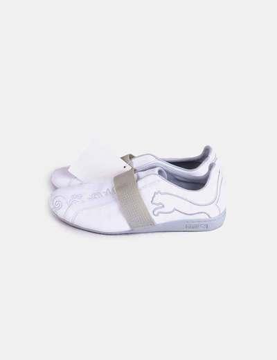Zapatillas Blancas Blancas Sin Cordones Zapatillas Sin OPZiXuTk