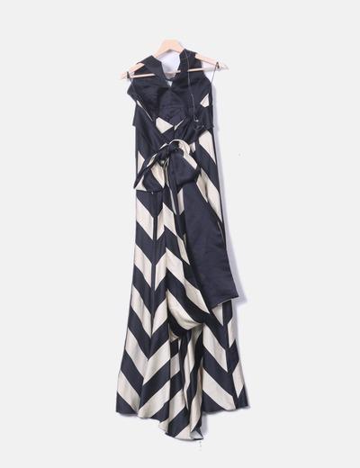 9926bbdd9 Adolfo Dominguez Maxi vestido fiesta cuello halter (descuento 82%) - Micolet