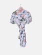 Vestido de chiffon floral florido NoName