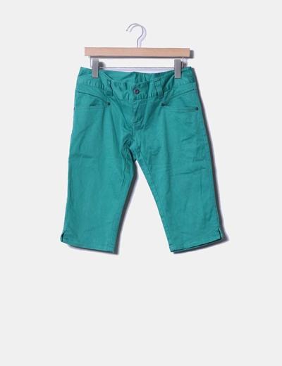 Pantalón pirata verde Vero Moda