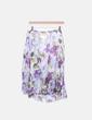 Falda de gasa print floral Roberto Verino