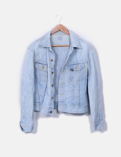 Chaqueta denim azul Lee