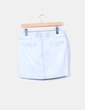 Mini falda vaquera clara Pull&Bear