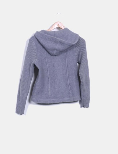 Sudadera tricot gris
