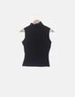 Camiseta licra negra cuello vuelto Vidrio