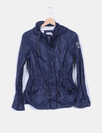 Chaqueta navy impermeable Springfield