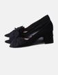 Zapato negro lazo Zara