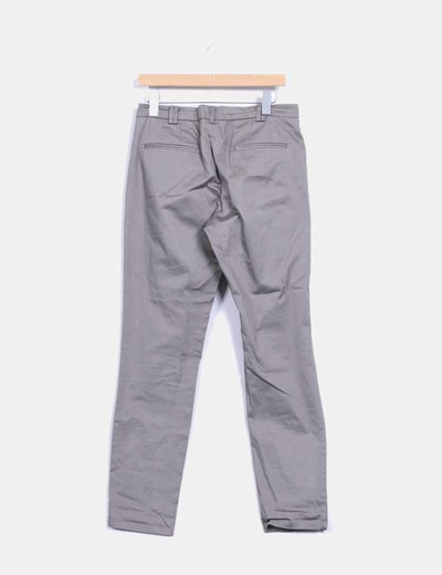 Pantalon de vestir color taupe