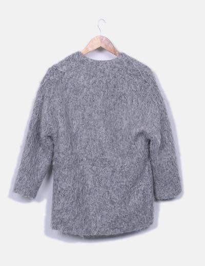 Chaqueton pelo gris