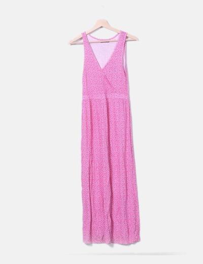 Vestido rosa floral Unit