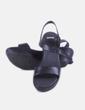 Sandalia negra plataforma Camper