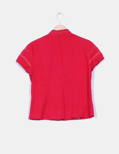 Camiseta coral