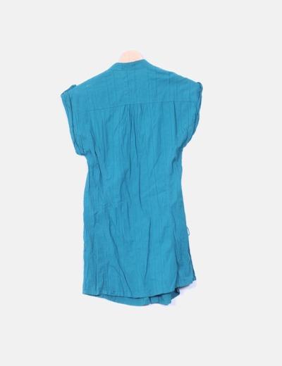 Camisola verde manga corta