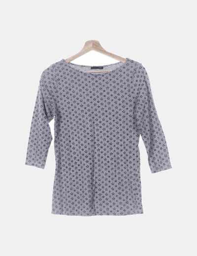 Camiseta con print estrellas