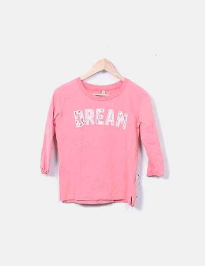 Sudadera rosa Dream