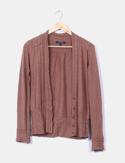 Cardigan color camel