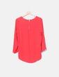 Blusa semitransparente roja Primark