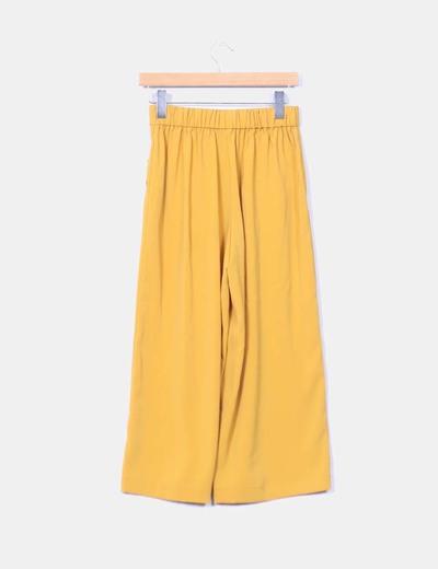 Mano Segunda Culotte Mostaza Zara Pantalon cBqP1Z0Wgc